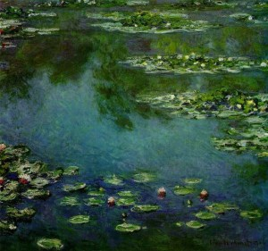 Painting by Oscar Claude Monet